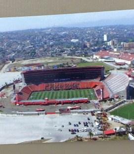 Tijuana Estadio Caliente Postcard