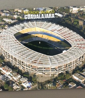 Modern Estadio Jalisco Postcard