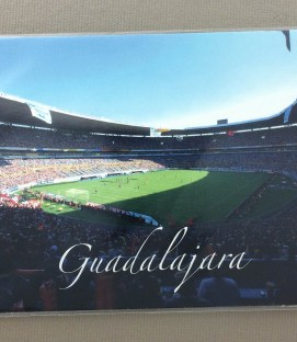 Estadio Jalisco Guadalajara Postcard