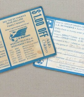 Los Angeles Skyhawks Ticket