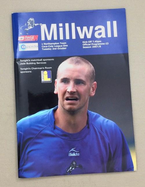 Millwall 2007 Match Program