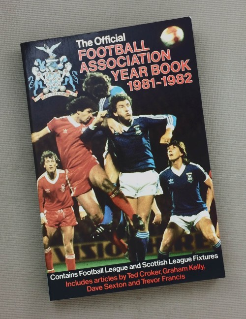 The Official Football Association Yearbook 1981-82