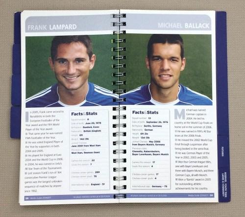 Chelsea, Frank Lampard, Michael Ballack