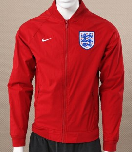 Mens Nike England Red Varsity Jacket