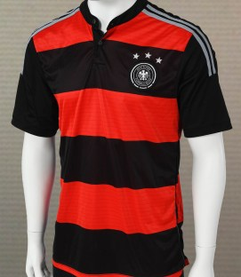 Germany Red and Black Replica Jersey