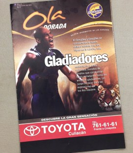 Dorados de Sinaloa 2004 Program
