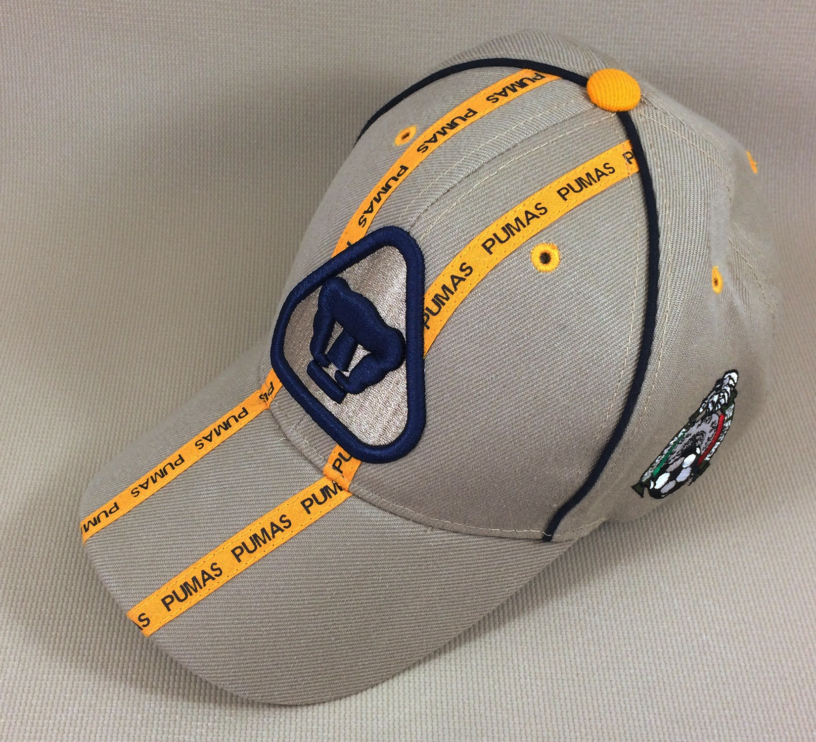 detailed look 8490b 14aa2 UNAM Pumas Cap - SportsHistoryCollectibles.com