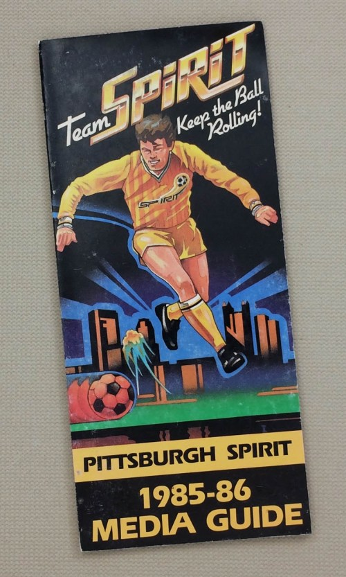 Pittsburgh Spirit 1985-86