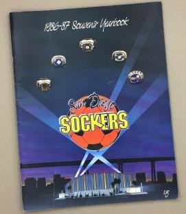 San Diego Sockers 1986-87 Yearbook