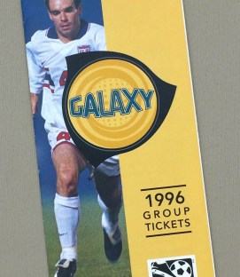 Los Angeles Galaxy 1996 Inaugural Group Ticket Brochure