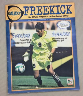 Los Angeles Galaxy 1996 Program