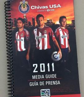 Chivas USA 2011 Media Guide