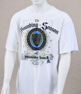Philadelphia Union 2010 Inaugural T-Shirt