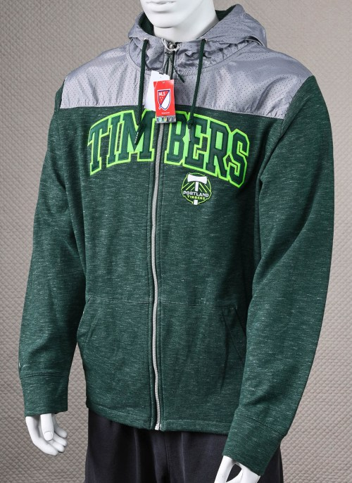 Portland Timbers Hooded Jacket