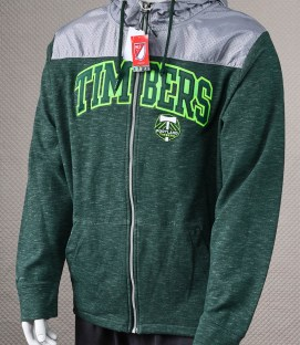 Portland Timbers Hooded Jacket