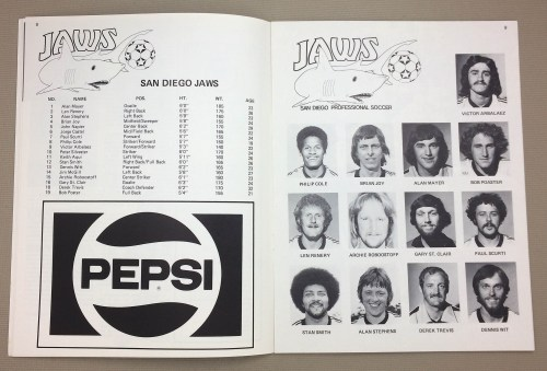 San Diego Jaws Roster