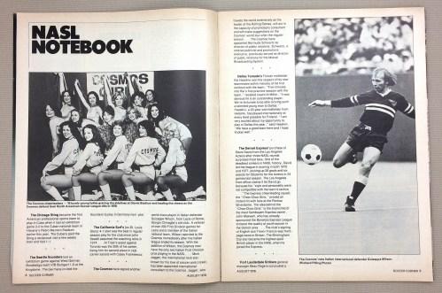 NASL Notebook August 1978