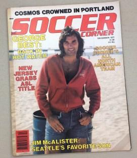 Soccer Corner Magazine December 1977