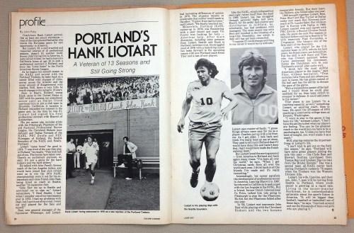 Portland Timbers Hank Liotart
