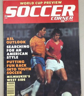 Soccer Corner Magazine June 1978
