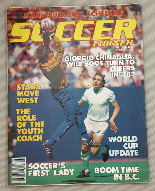 Soccer Corner Magazine May 1978