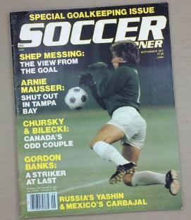 Soccer Corner Magazine September 1977