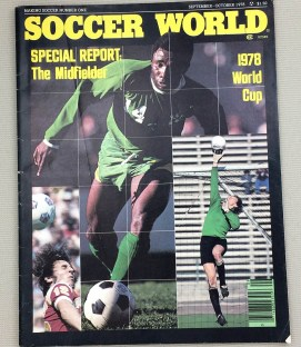 Soccer World Magazine Sept-Oct 1978