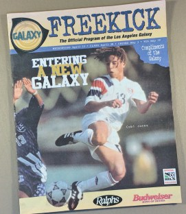 Los Angeles Galaxy 1996 Inaugural Game Program