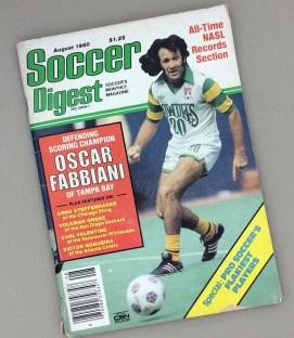 August 1980 Soccer Digest Magazine