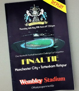 May 14th, 1981 FA Challenge Cup Final Tie Game Program