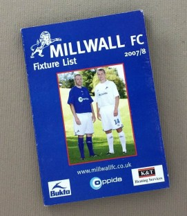 Millwall FC 2007-08 Fixture Schedule