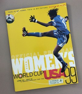 FIFA 1999 Women's World Cup Championship Game Program