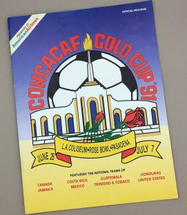 CONCACAF Gold Cup Final 1991 Program