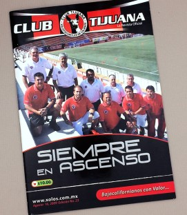 August 16th, 2009 Xolos Program