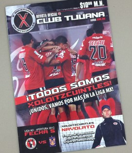 August 17th, 2012 Xolos Program