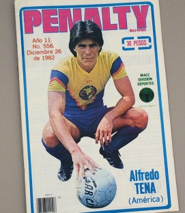 "1982 ""Penalty"" Mexican Soccer Magazine"