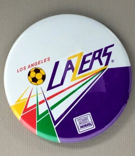 Los Angeles Lazers Team Button