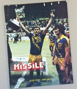 San Diego Sockers 1982 Program