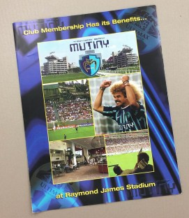 Tampa Bay Mutiny 2000 Ticket Brochure
