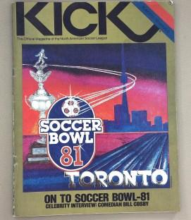 Kick Magazine 1981 Playoff Semifinals issue