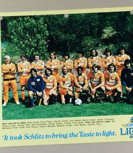 Los Angeles Aztecs 1976 Team Photo