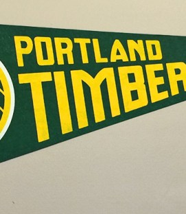 Portland Timbers 1978 Team Pennant