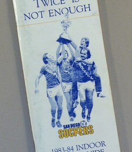San Diego Sockers 1983-84 Media Guide