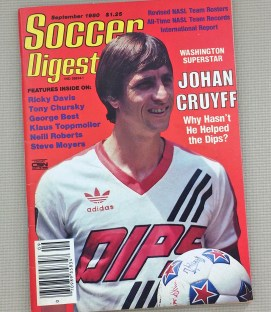 Soccer Digest September 1980