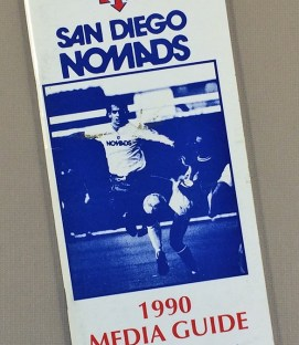 San Diego Nomads 1990 Media guide