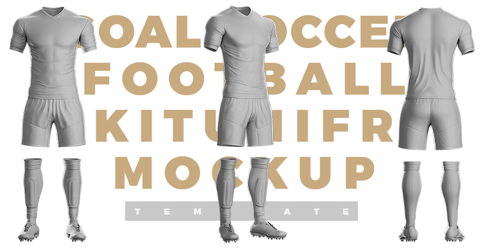 Download Goal Soccer kit Template - Sports Templates