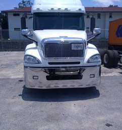 ontario g verified customer review of 22 freightliner century columbia chrome bumper fits [ 1500 x 1125 Pixel ]