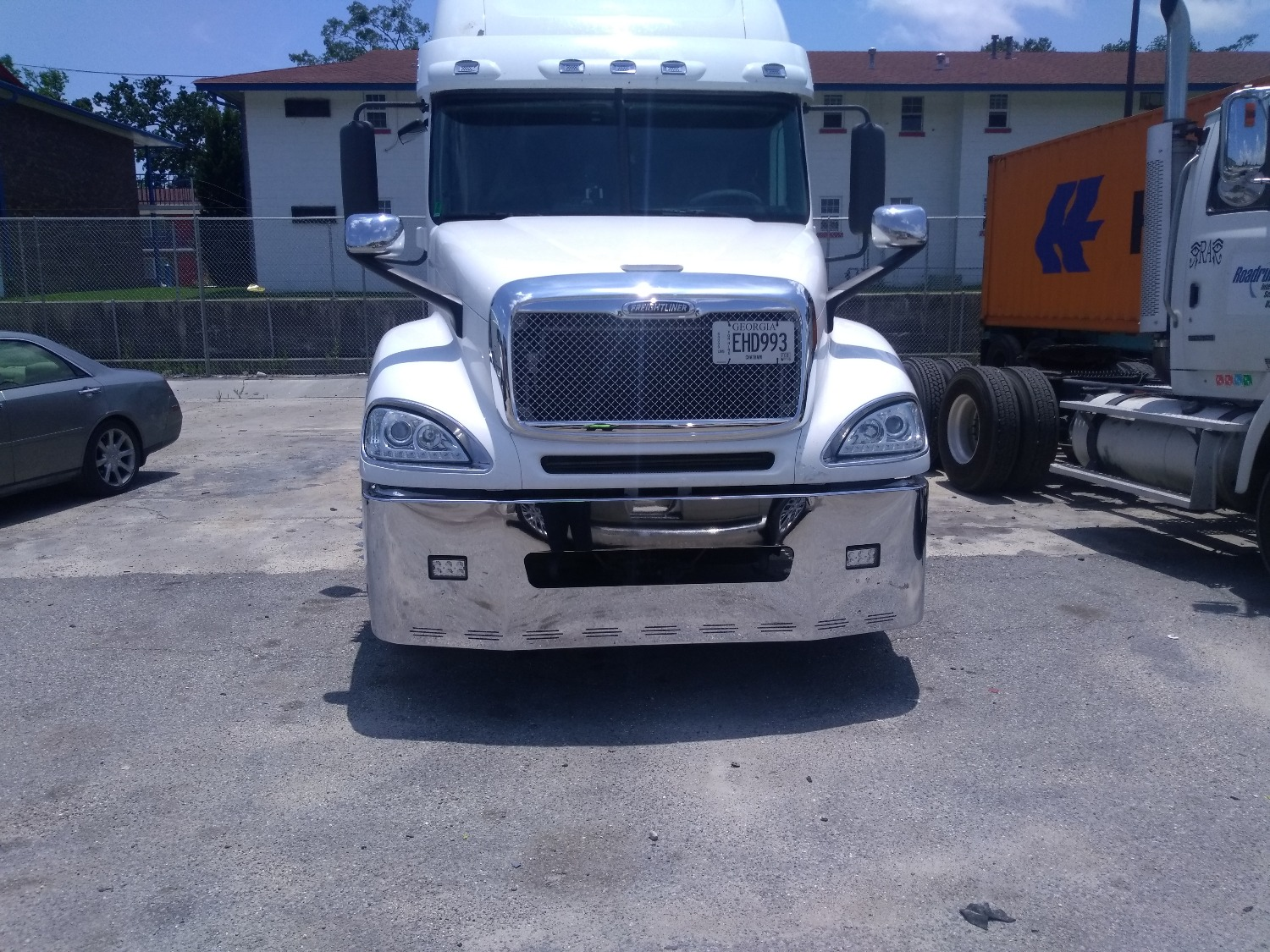 hight resolution of ontario g verified customer review of 22 freightliner century columbia chrome bumper fits
