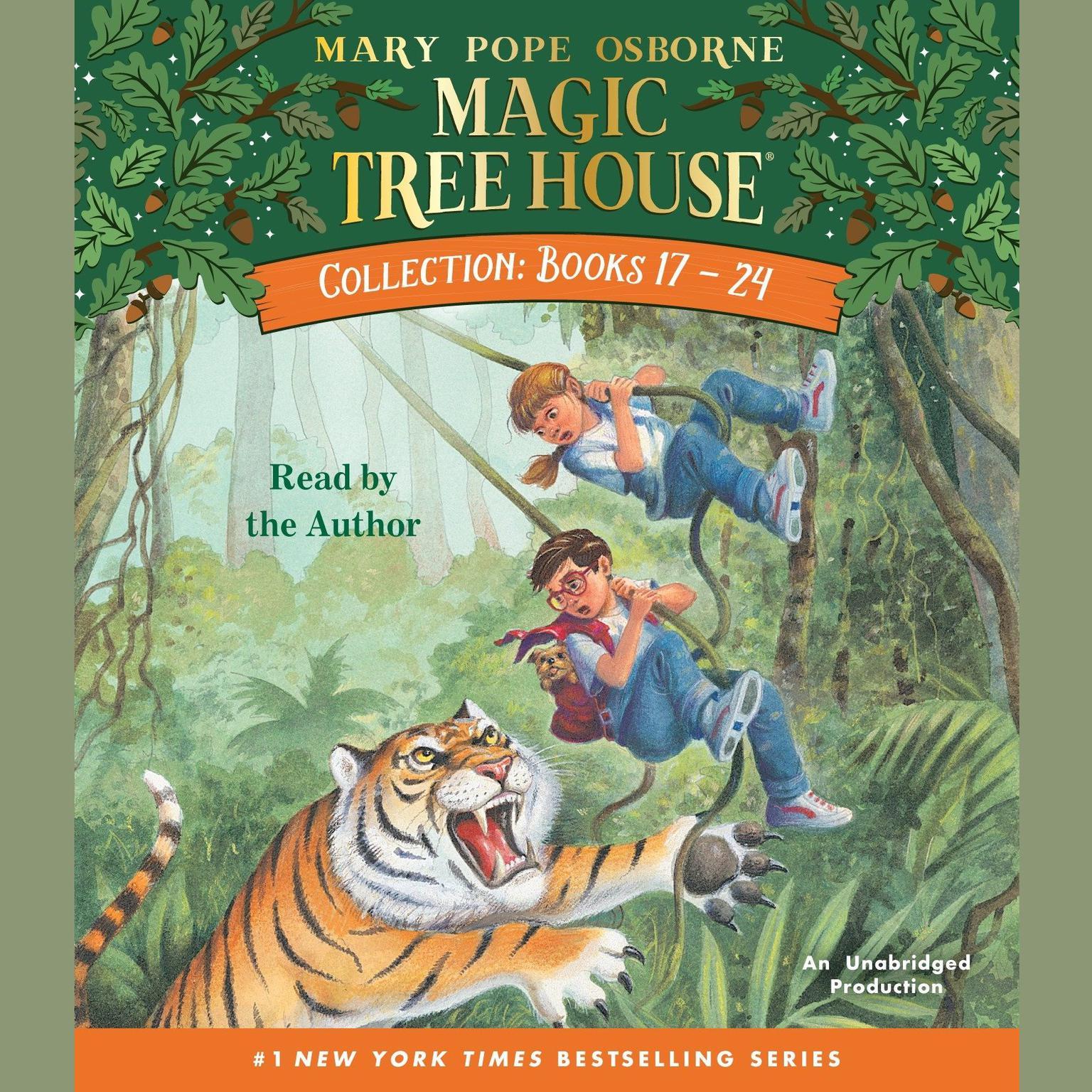 Magic Tree House Books 17 24