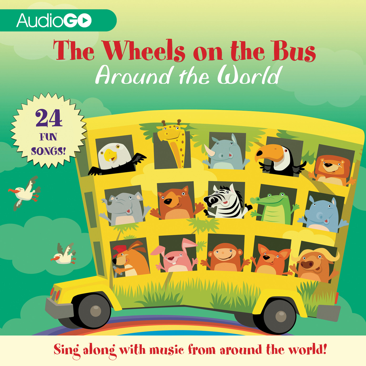 The Wheels On The Bus Around The World